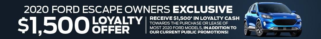 September Escape Loyalty Bonus!