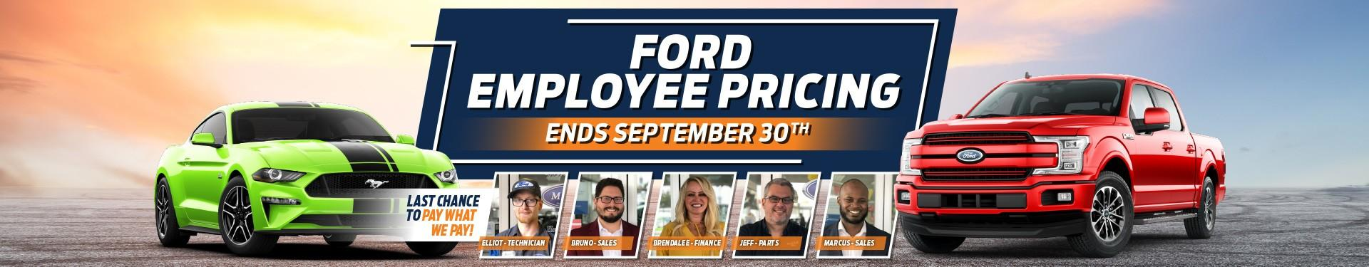 Maclin Ford Employee Pricing